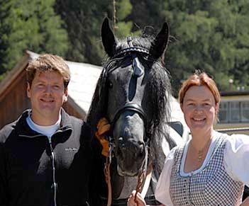 Helga Klary und Christoph Klary vom Postgut in Tweng im Lungau - nahe Obertauern